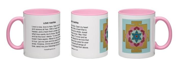 Love Pink Mug
